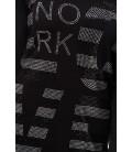 long Sweater schwarz - AT14406