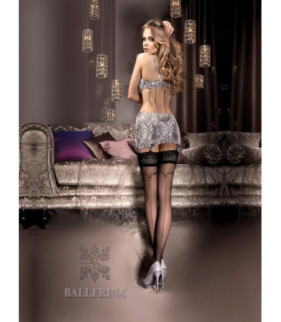 Stockings BA Art. 242 schwarz halterlose Strümpfe Großbild