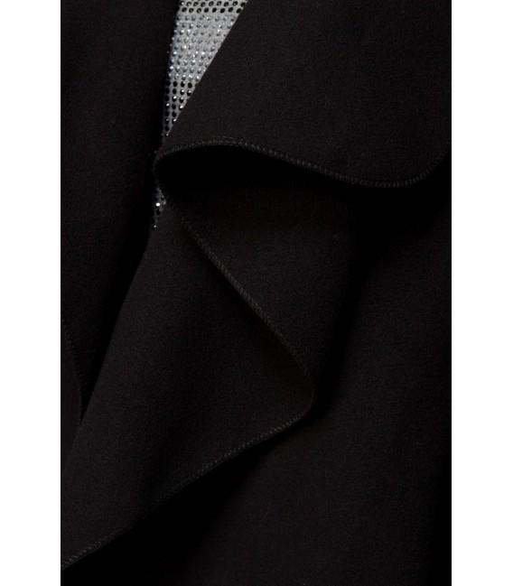 Wickelmantel schwarz - AT14426