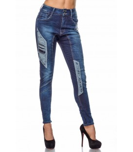 Jeans im Boyfriendlook mit leichter Waschung