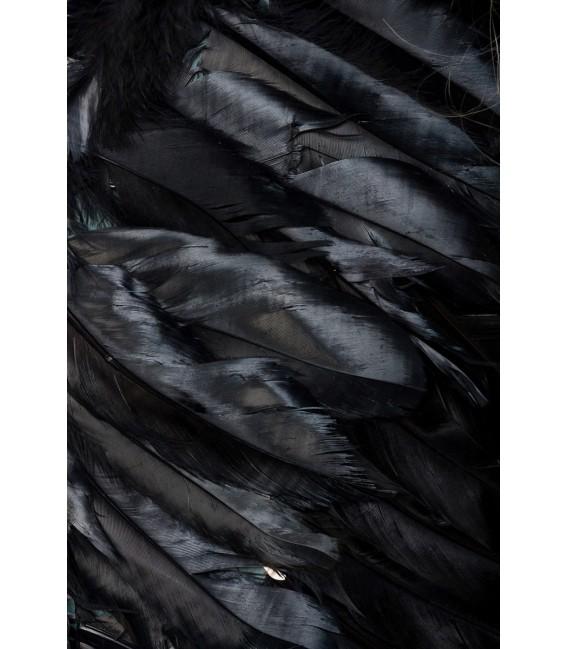 Engelchen Kostüm schwarz - AT14454