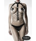 3-teiliges Kettenharness-Set von Grey Velvet - AT14503