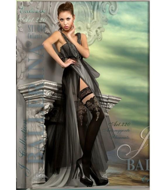 Stockings BA Art. 220 schwarz halterlose Strümpfe Großbild