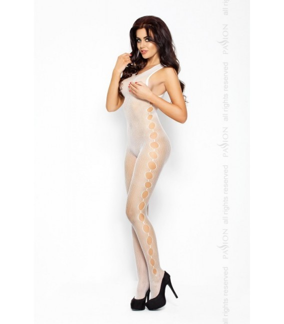 Catsuit PE Body Stocking BS003 weiß