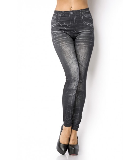 Leggings in Jeans Optik