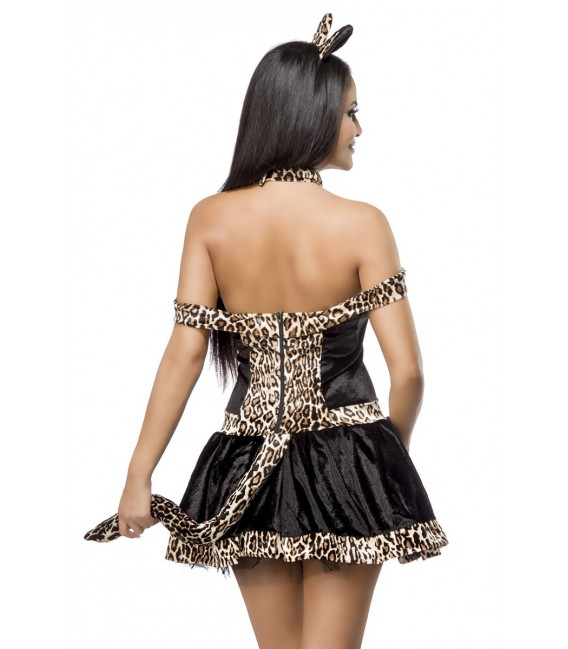 Leopardenkostüm-Set - Katzenkostüm