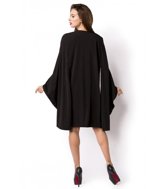 Minikleid mit tief ausgeschnittenem Dekolleté