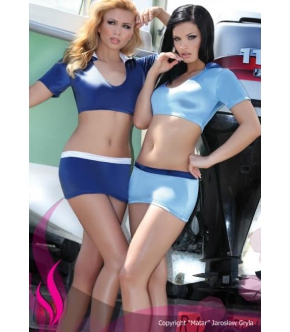 Großbild PA Ellena navy- blau Sommer-Set - Bild 1