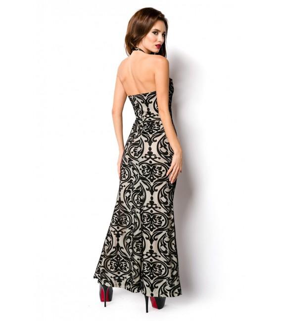Kleid in Meerjungfraulinie bodenlang