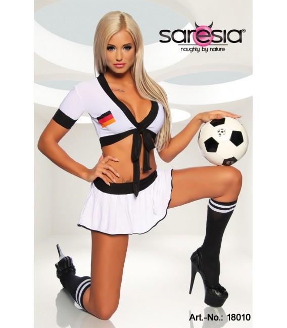Trikot-Set von Saresia im Nationaltrikot-Look mit deutscher Flagge