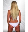 Gogo-Bikini weiß/gold - AT18033