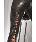 Wetlook-Leggings kroko/schwarz - AT18035