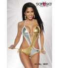 Monokini gold/silber - AT18061