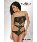 Monokini schwarz/gold - AT18062