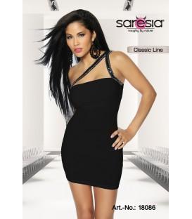 Etui-Kleid von Saresia schwarz