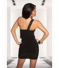 Etui-Kleid schwarz - AT18086