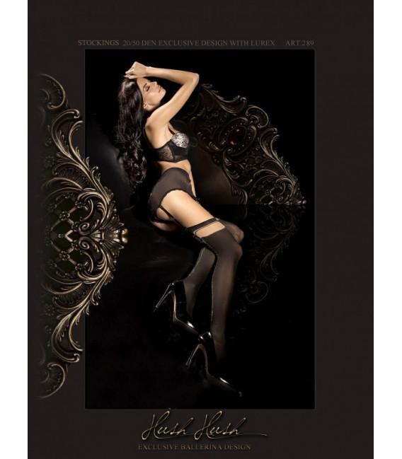Stockings BA Art. 289 Strapsstrümpfe schwarz 20den/60den