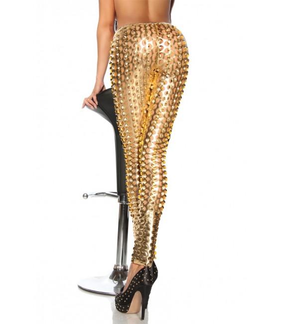 Leggings der Stars von Saresia gold