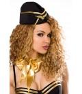 Stewardess-Kostüm von Saresia roleplay, besteht aus Kleid, Mütze, Stockings und Band