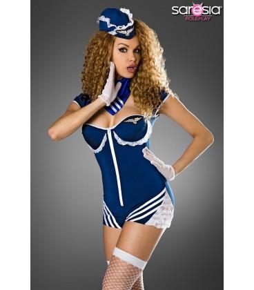 Retro Stewardess-Kostüm von Saresia roleplay - AT18179