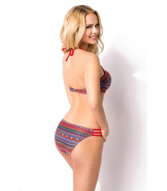 Bandeau Bikini mit leichtem Push-Up-Polster