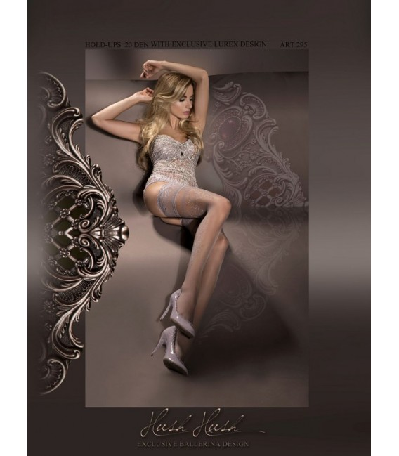 Stockings BA Art. 295 halterlose Strümpfe fumo 20den