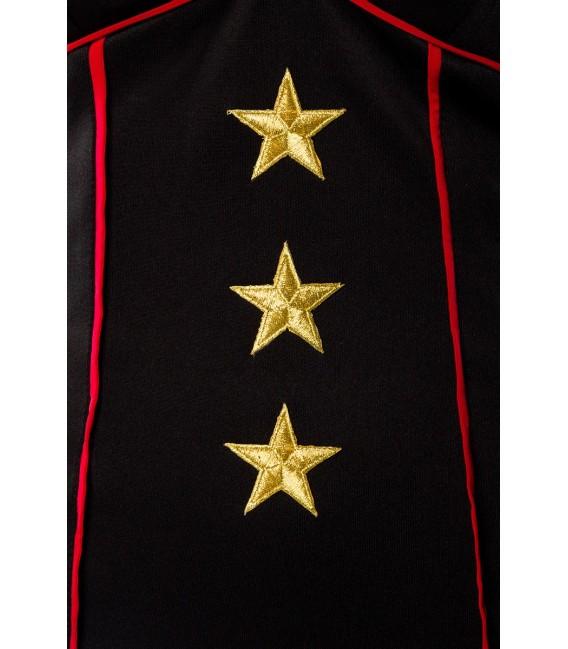 Military-Kleid mit Jacke von Belsira