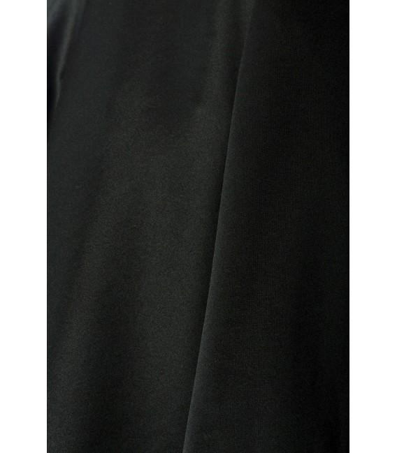 Weit schwingender Tellerrock von Belsira schwarz