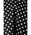 Tellerrock schwarz/weiß - AT50008
