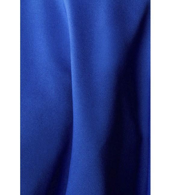 Weit schwingender Tellerrock von Belsira blau