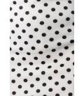 Bleistiftrock weiß/schwarz - AT50009