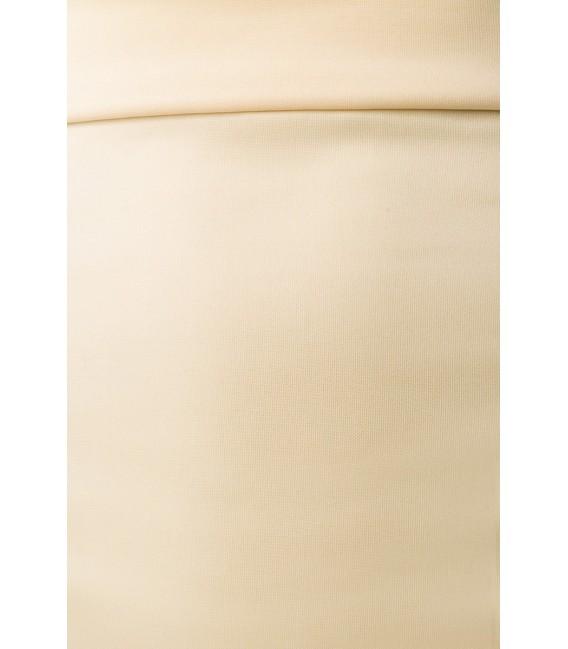 Schmaler eleganter Bleistiftrock von Belsira creme