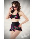 Vintage-Bikini mit Kirschmuster - AT50016
