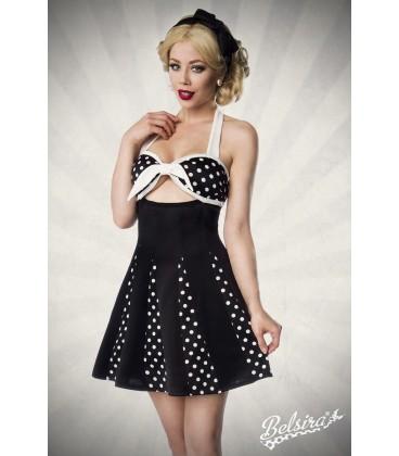 Godet-Kleid mit Schleife - AT50027