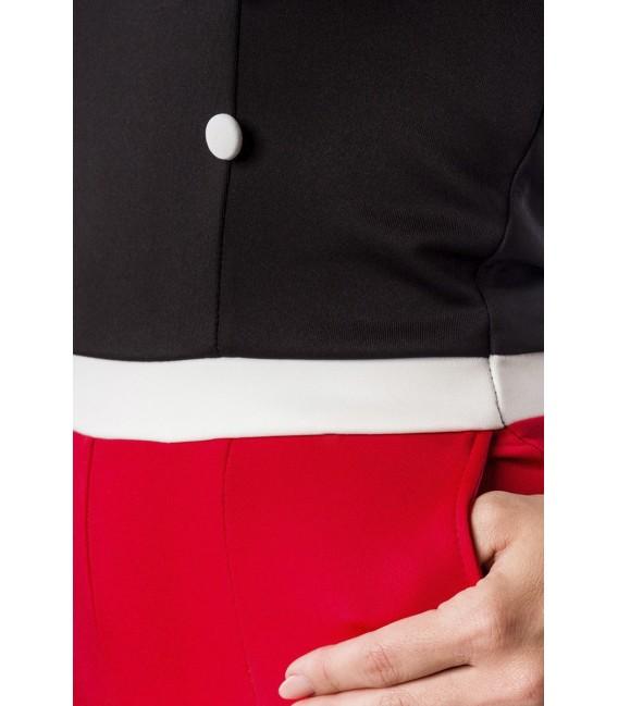 Trägerloser Jersey-Body von Belsira im trendigen Retro Look