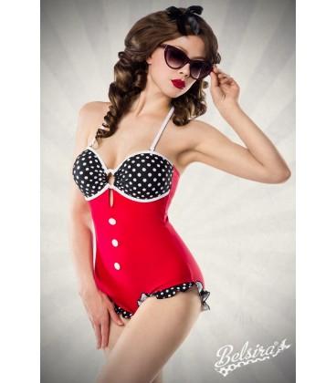 Retro Look Swimsuit - AT50043