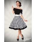 schulterfreies Swing-Kleid - AT50048