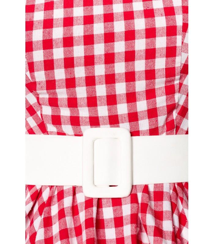 50815fad5568 Karokleid rot/weiß - AT50049 - FashionMoon