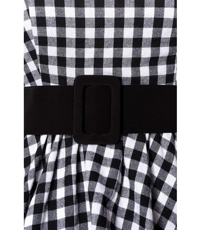 7a9a86655e29 Karokleid schwarz/weiß - AT50049 - FashionMoon