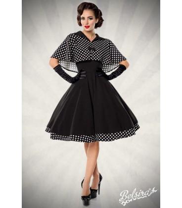 Swing-Kleid mit Cape - AT50050