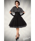 Swing-Kleid mit Cape - AT50050