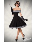 schulterfreies Swing-Kleid - AT50053