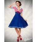 Swing-Kleid im Marinelook - AT50057