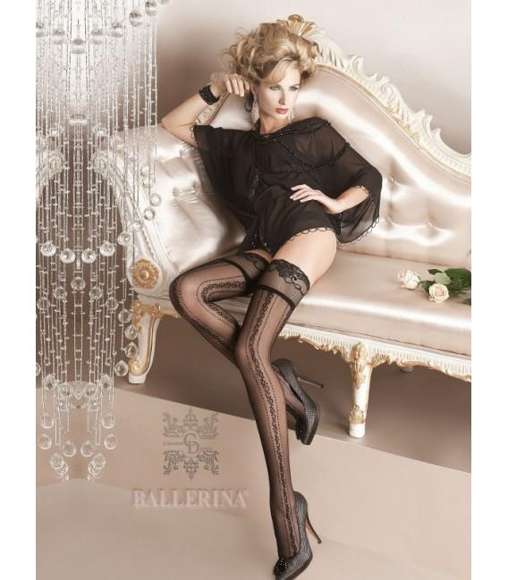 Stockings BA Art. 124 halterlose Strümpfe schwarz 20den Großbild