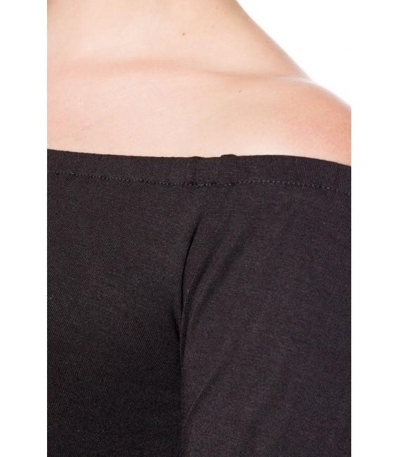 Vintageshirt schulterfreies RetroShirt mit dreiviertel Ärmeln von Belsira