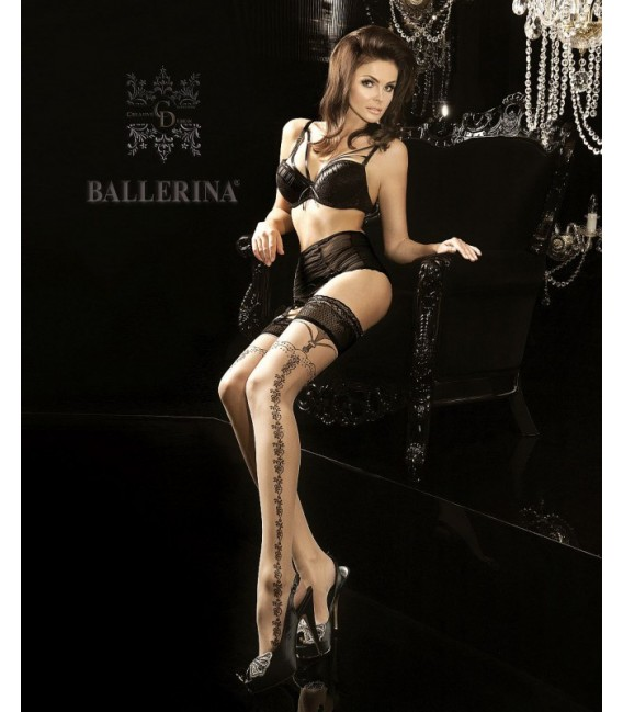 Stockings BA Art. 181 halterlose Strümpfe skin 20den