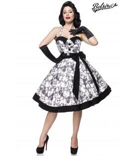 Vintage Swing Kleid schwarz/weiß - AT50089