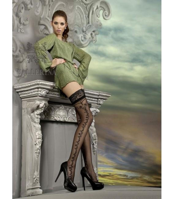 Stockings BA Art. 216 halterlose Strümpfe schwarz 20den Großbild