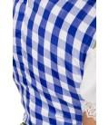 Traditionelles Minidirndl blau - AT70003