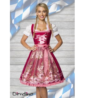 Premium Dirndl mit Stickereien - AT70022